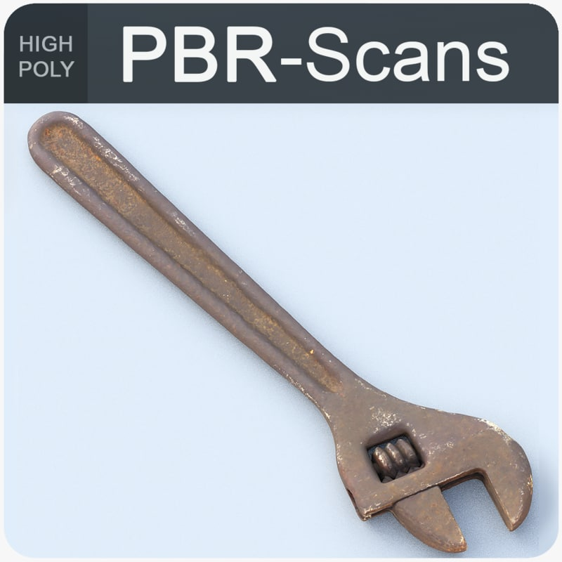 wrench tool model