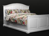 3D ikea birkenland bed frame