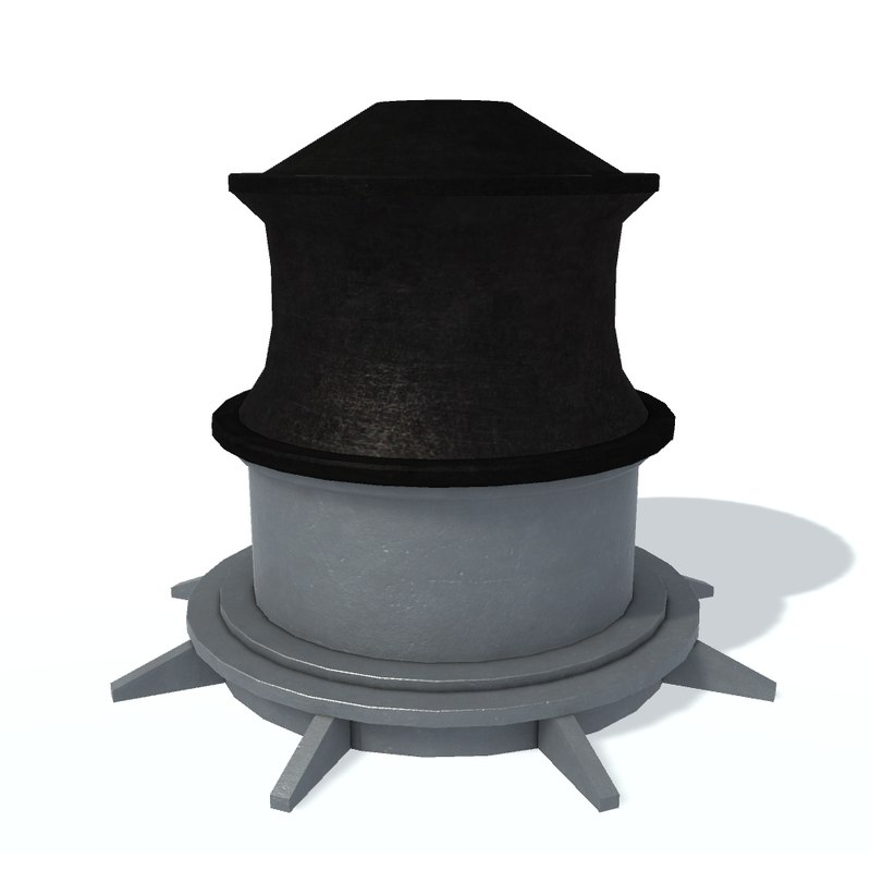 3D model capstan d