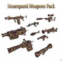 Steampunk Weapon Pack