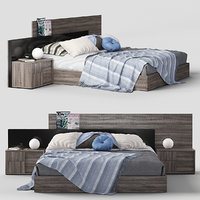 3D bed status futura model