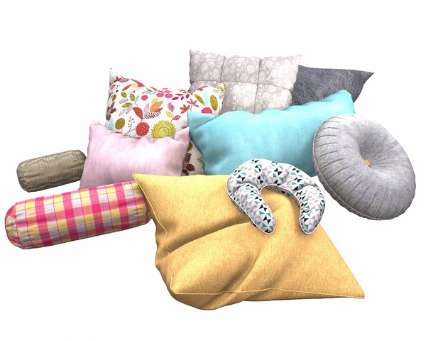 3D pillow set