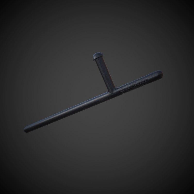 3D police tonfa model