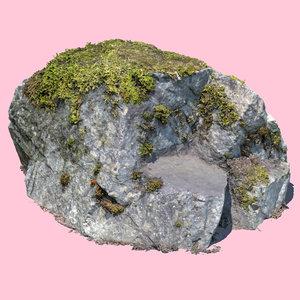 rock reality capture 3D model