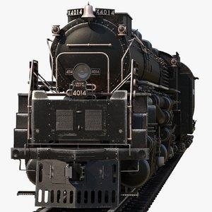 3D lokomotive old