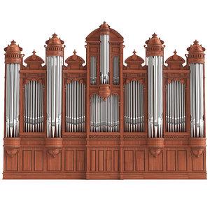 big organ 3D model