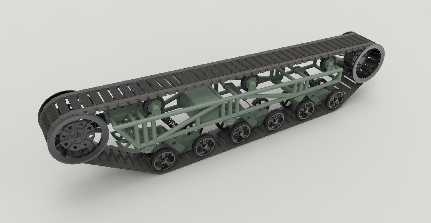 ripsaw track 3D model