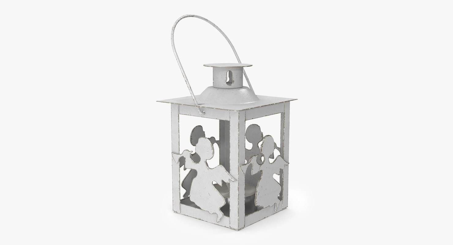 3D model christmas lantern