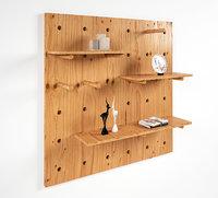 3D wooden modular