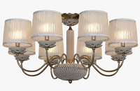 3D chandelier crystal