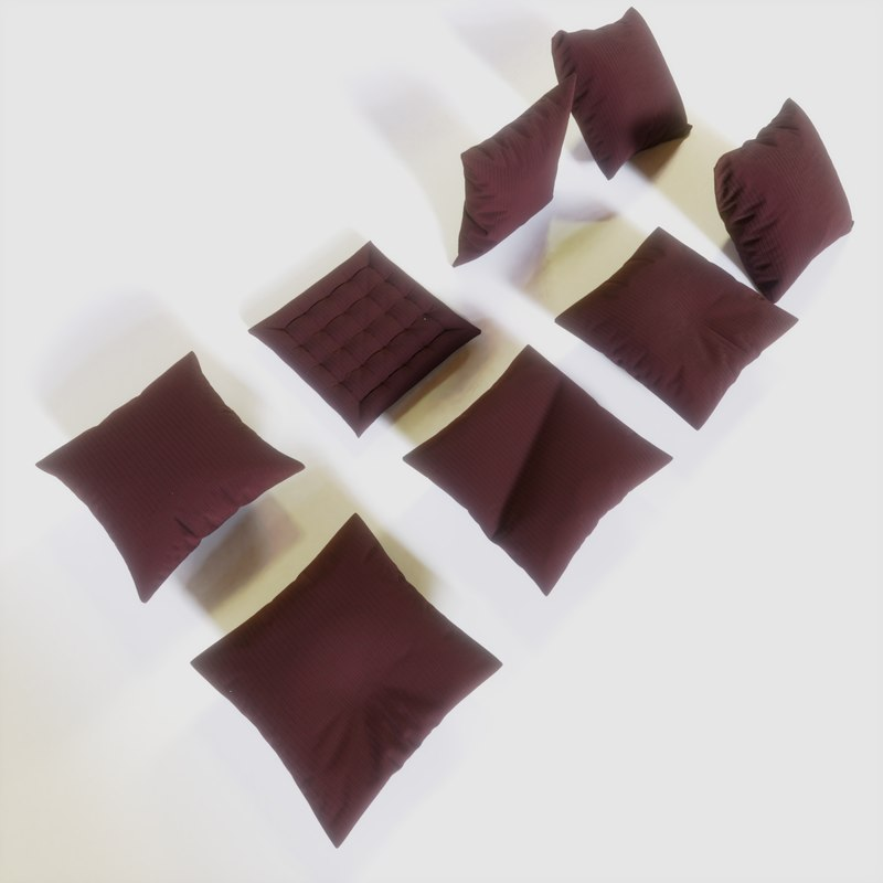 3D pillows interior soft