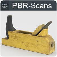 jackplane tool wood model
