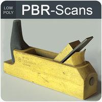 jackplane tool wood 3D