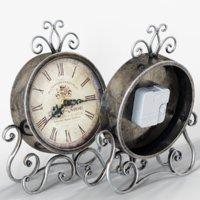 vintage clock 3D model