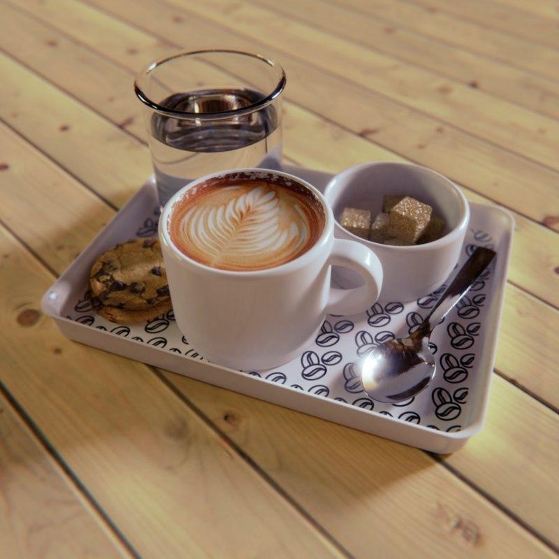 3D coffee cookie model