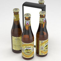 beer tripel karmeliet 3D model