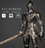 Evil Warrior - Game -