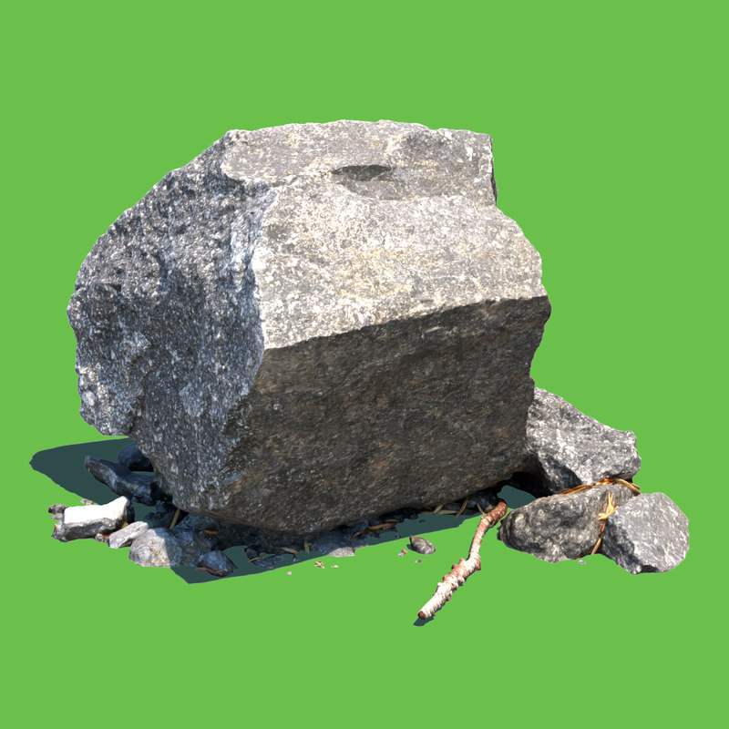 rock 3D