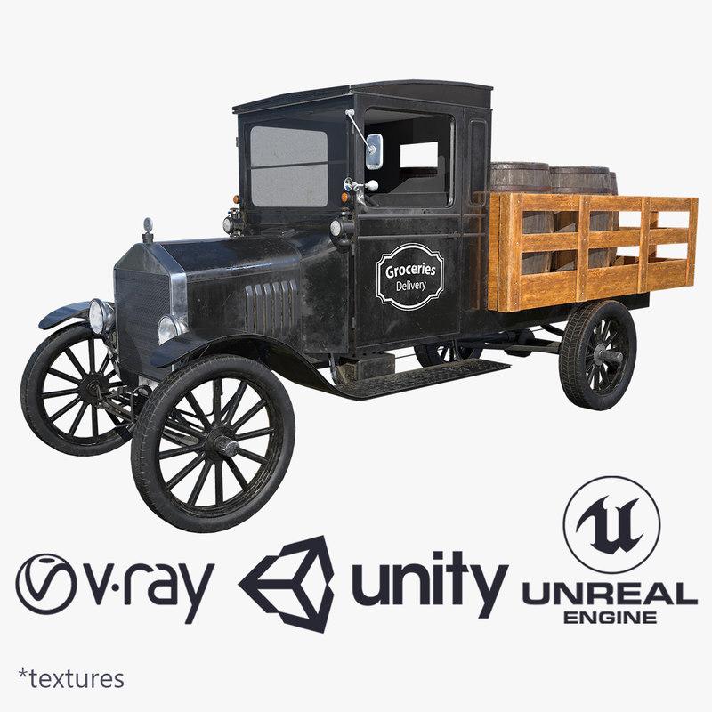 tt truck 1923 model