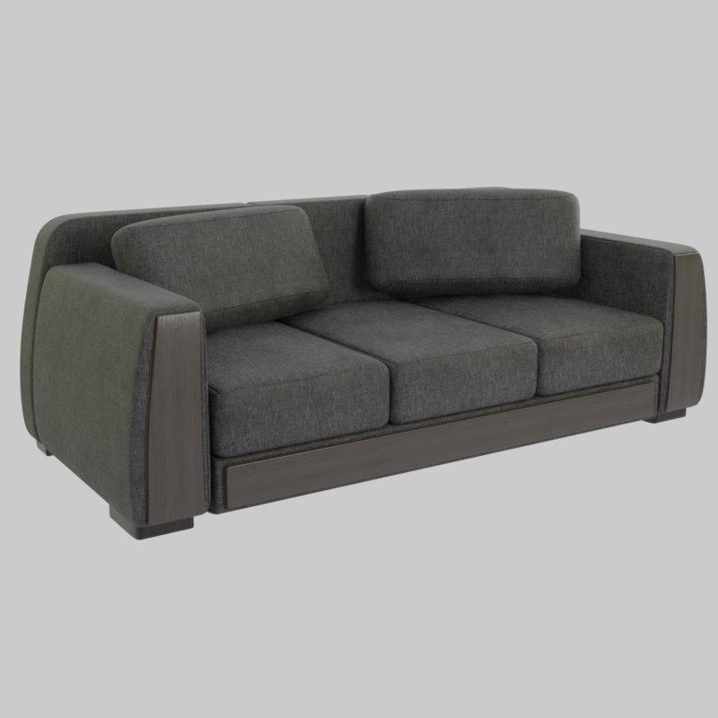 cloth sofa pillows 3D