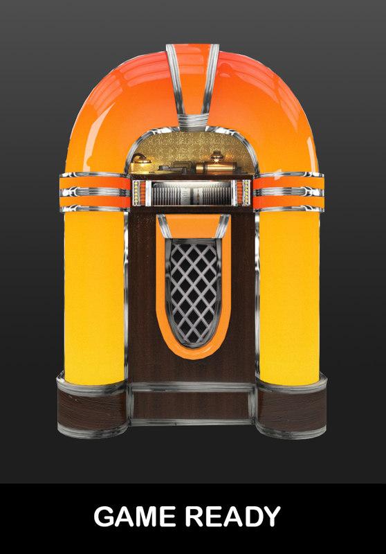3D ready juke box