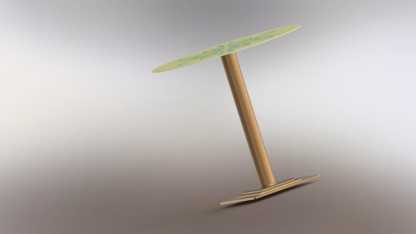 3D modeled kitchen model