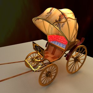 chariot 3D model