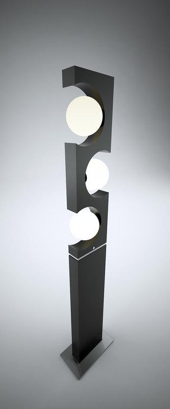 3D lamp interior