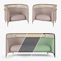 Targa Lounge armchair and sofa