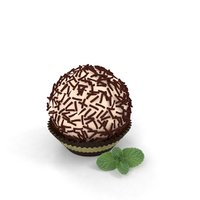 chocolate choco ball 3D model