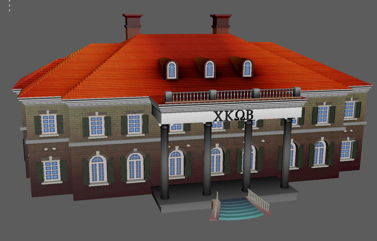 north american house model