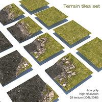 3D model modules landscape