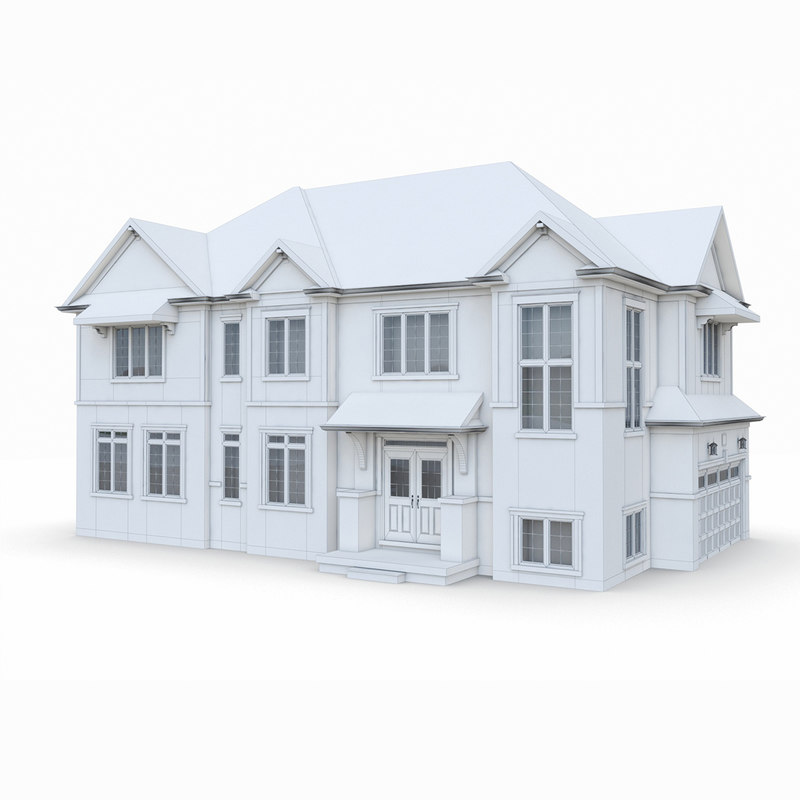 small house architecture model