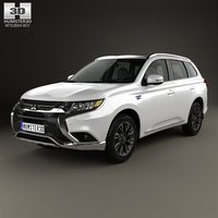 mitsubishi outlander phev 3D model