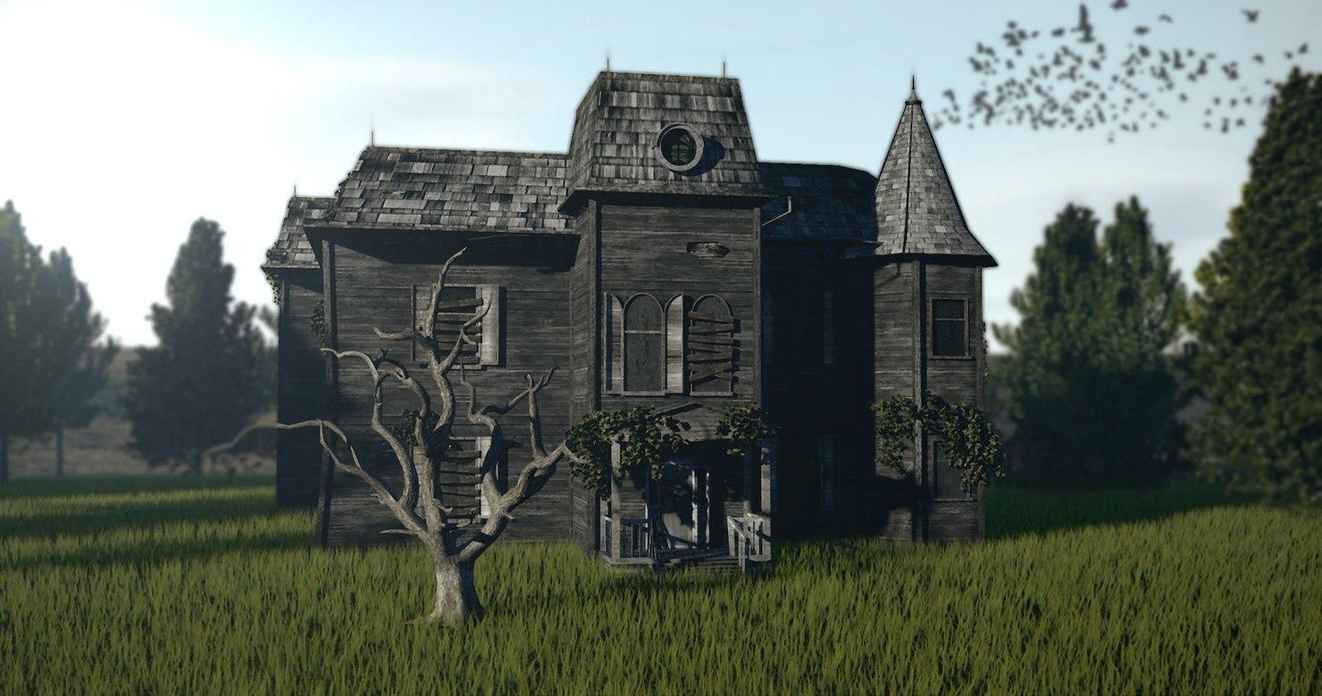 - house movie 2017 3D model