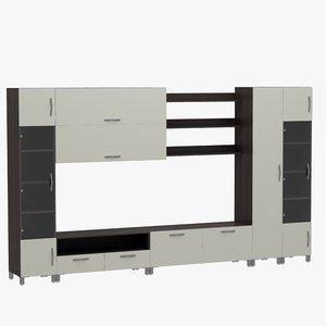 home furniture tv 3D model
