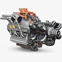 3D sci-fi engine 2
