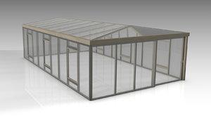 3D conservatory model