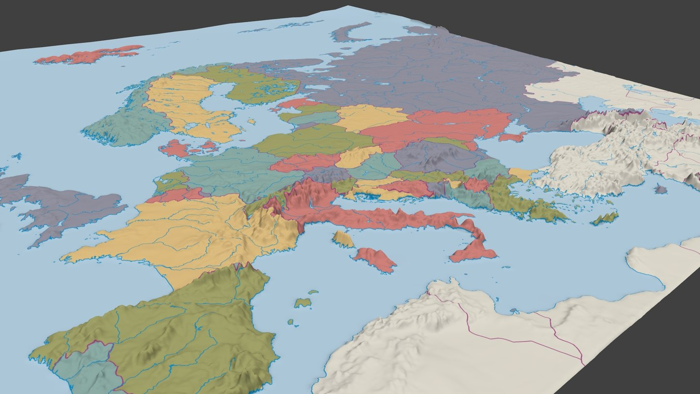 3D surface europe