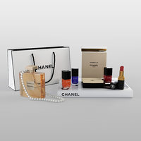 3D chanel cosmetics set