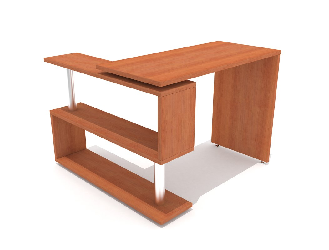 work table 3D model