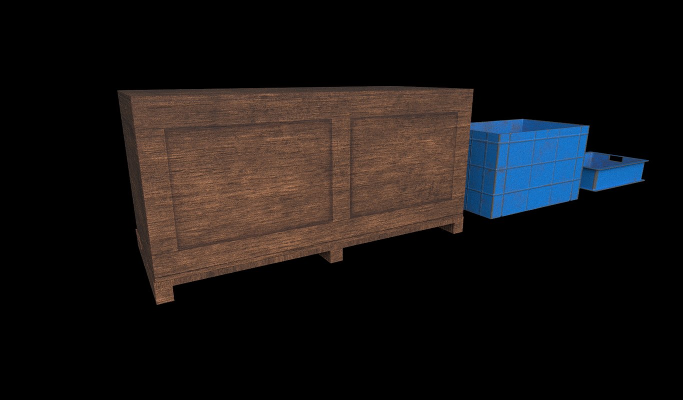 crate ready pbr model