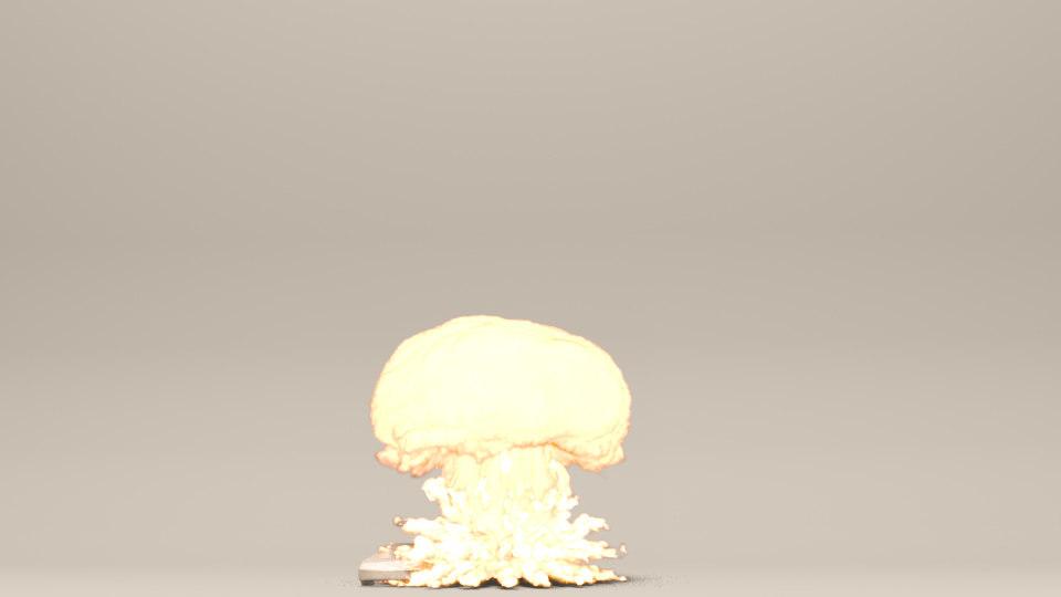 ... 3D Mushroom Cloud Explosion Fumefx ...
