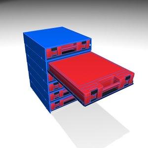 cabinet drawer 3D model
