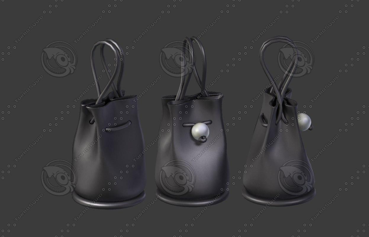 3D model women bag 30