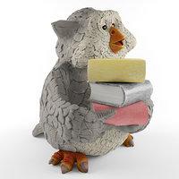 toy owl 3D model