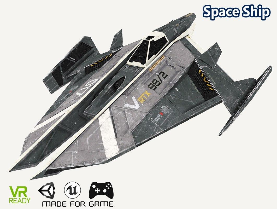 3D model optimized gaming vr