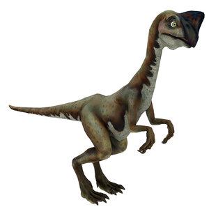 3D model oviraptor raptor