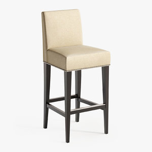 sofa chair bernard bar stool 3D