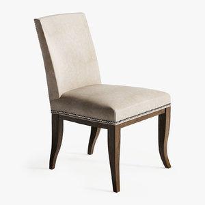 hickory chair handler 3D model